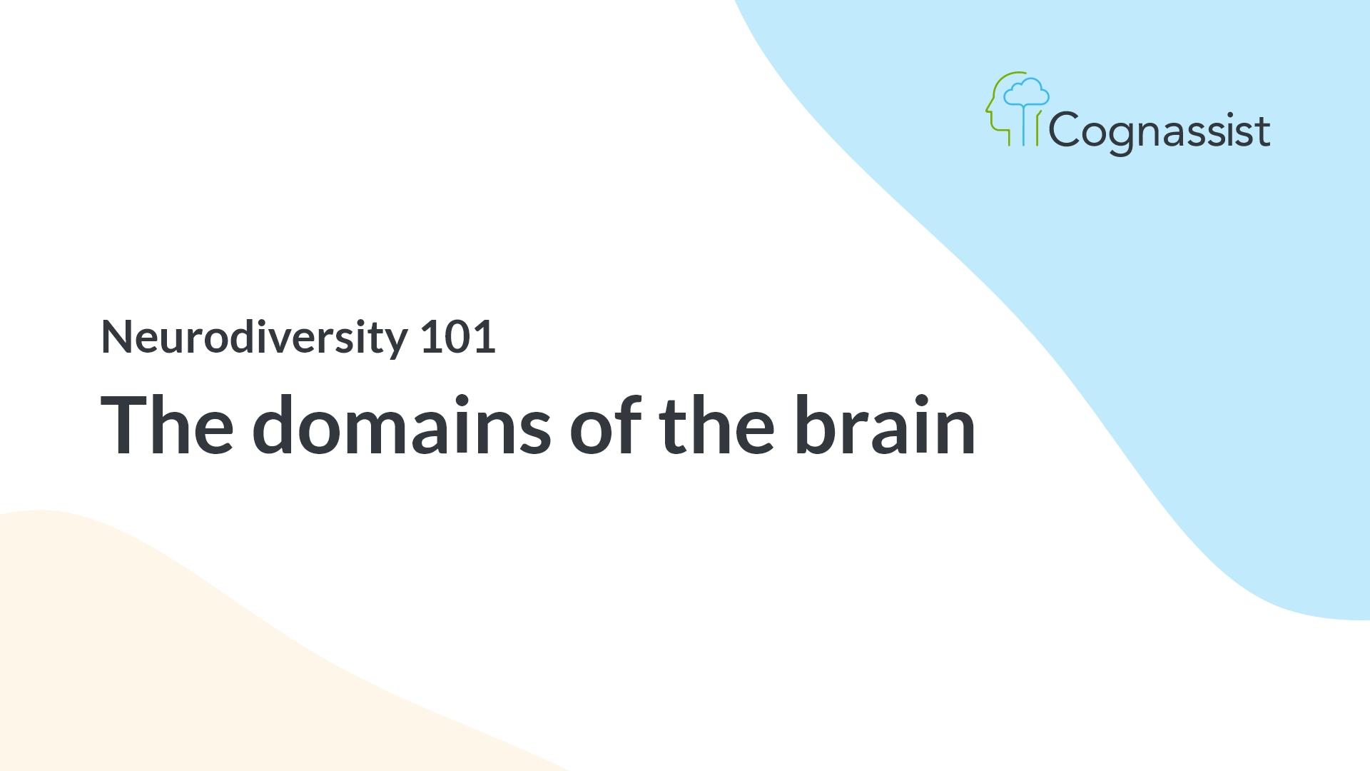 cognitive domains