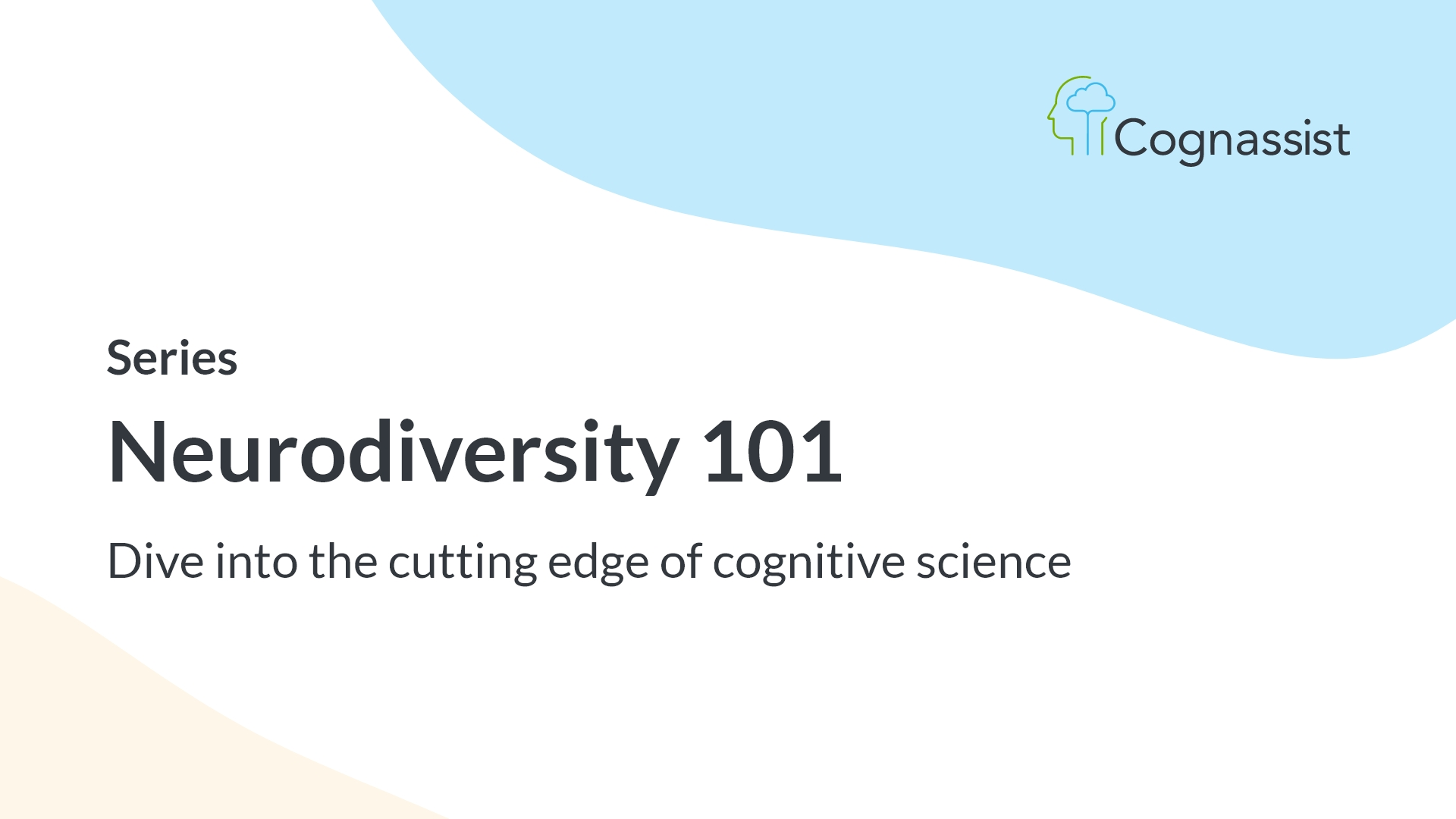 neurodiversity 101 series