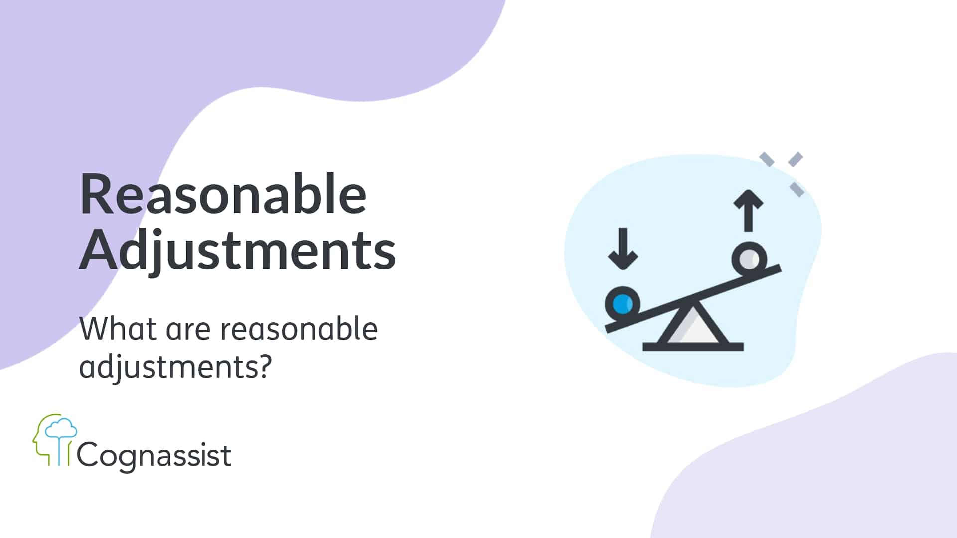what are reasonable adjustments