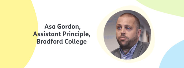 Cognassist client Bradford College Asa Gordon headshot