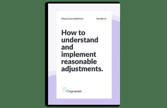 Reasonable adjustments handbook